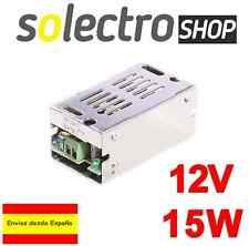 Fuente de alimentación DC 12V 1.25A 15W TIRA LED Switching Power Supply