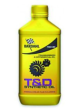 Bardahl T&amp D Synthetic Oil 75w90 Lubrificanti Olio Trasimissioni