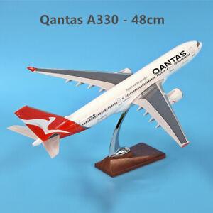 Fly Kangaroo Large Qantas Airbus A330 Fiberglass Resin Aircraft Plane Model 46cm