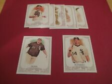 2012 Topps Allen & Ginter Chicago White Sox Team Set with SP