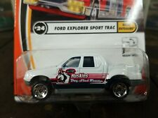 Matchbox #24 Great Outdoors Ford Explorer Sport Trac White 2002