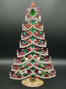 301 Christmas tree, Christmas decoration,Czech vintage, Gablonz, Weihnachtsbaum