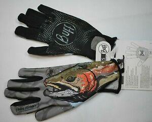 Buff Sport Series MSX Fly Fishing Glove Full-Finger Cross Sport XS/S Steelhead!