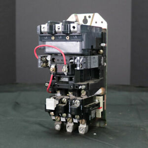 Used ALLEN-BRADLEY Motor Starter FVNR Size 2 115/120V 25HP 509-COD