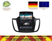 """10.4"""" TESLA DVD GPS NAVI BT ANDROID 7.1 DAB+ AUTORADIO FORD KUGA 2013-17 NH-1002"""