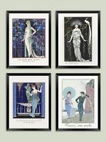 GEORGE BARBIER PRINTS: Vintage French Fashion Art Deco Illustrations