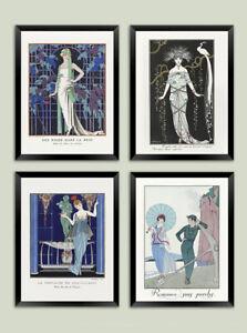 GEORGE BARBIER PRINTS: French Fashion Art Deco Illustrations