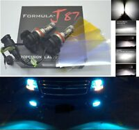 LED Kit X3 50W H11 8000K Icy Blue Two Bulbs Head Light Low Beam Replace Upgrade