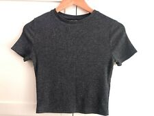 New Look Glitter Crop Top - Size 8
