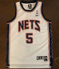 Vintage Reebok NBA New Jersey Nets Jason Kidd Basketball Jersey