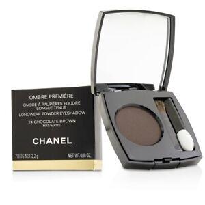 NEW Chanel Ombre Premiere Longwear Powder Eyeshadow (# 24 Chocolate Brown)