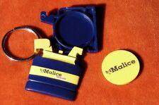 porte-clé keychain gaz Bouteille MALICE TOTALGAZ systeme jeton-caddie cachette !