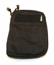 Pocket Buddy - Black. Organiser, Pouch, Notebook, iPhone, Tactical, Camping, MOD