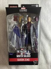 Marvel Legends 2021 BARON ZEMO Figure MISB Falcon and the Winter Soldier IN HAND