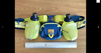 Nathan Running Hydration Belt With 2 x 266mls Bottles. - Mint Condition