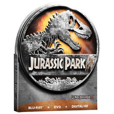 Jurassic Park III Blu-ray/DVD/Digital Copy Steelbook Steel Tin Best Buy NEW!!