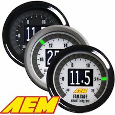 AEM 30-4900 DIGITAL WIDEBAND UEGO AIR FUEL BOOST GAUGE FAILSAFE