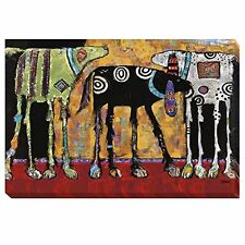 Looking For Trouble by Jenny Foster Oversize Gallery-Wrapped Canvas Giclee Art