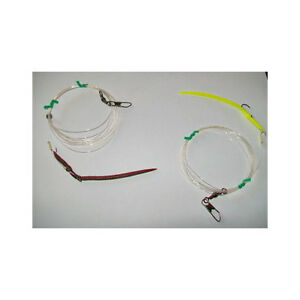 Trainetta 2 Lombrices de Tierra Troller Worms Stonfo CM11 Para Traína Y Spinning