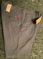 Levi's Men's XX Chino Standard Taper Fit Stretch Shorts Size 40 Dark Slate New