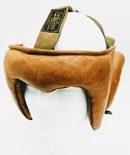 Vintage Scully Bros. Leather Boxing  Headgear Los Angeles Head Protection Rare
