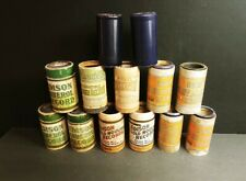 14 Edison Amberol Phonograph Cylinders Assorted Blue Lakeside Indestructable