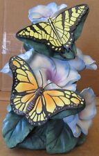 New Nib Fiber Optic Table Lamp Butterfly Animal Flower Battery Operated Light
