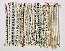 Lot of 34 Silver Bracelets