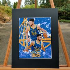 Golden State Warriors - Stephen Curry #30 - Steph -  Custom Artwork Available