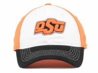OKLAHOMA STATE COWBOYS Top of the World NCAA Two Tone Flex Fit Hat Cap size OSFM