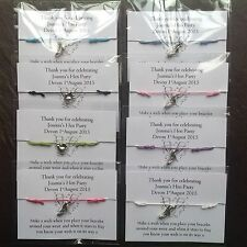 Personalised Hen Night/Party Friendship/ Wish Hen party Bracelets party favours