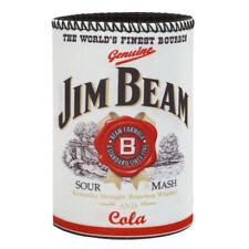 JIM BEAM Sour Mash Bourbon Stubby Holder - Can Cooler - Man Cave Beer Bar
