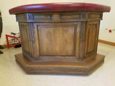 Ornate Romweber Viking Oak Bar
