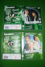 The Professionals DVD'S TV SERIES LEWIS COLLINS, MARTIN SHAW & GORDON JACKSON