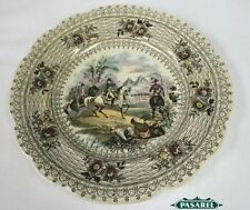 Napoleon Bonaparte Egyptian Campaign Porcelain Plate William Smith England 1840