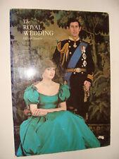 Official Souvenir The Royal Wedding of Princess Diana Prince Charles 1981