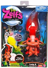 """The Zelfs 5"""" Series 2 Super Zelf Lady B Lady Bug & Hair Accessories - New In Box"""