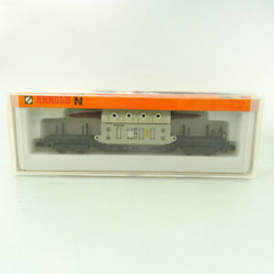 Arnold Spur N No 4910 Tiefladewagen mit Transformator BBC neuwertig OVP #298