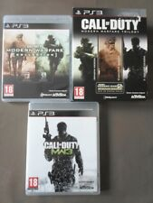CALL OF DUTY WARFARE TRILOGY ( PLAYSTATION 3 - SONY ) COMPLET