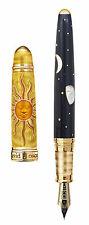 David Oscarson Celestial Golden Yellow LE Fountain Pen - Brand New!!