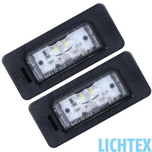 2x ORIGINAL BMW LED Kennzeichenleuchten Nummernschildbeleuchtung 6326 7193293