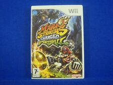 wii MARIO STRIKERS CHARGED FOOTBALL Nintendo PAL UK