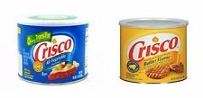 CRISCO SHORTENING ALL VEGETABLE 453g and BUTTER (blue and yellow)- total 2