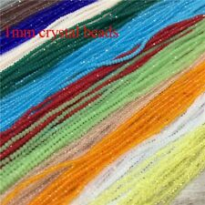 Crystal Rondell Faceted Glass Beads Small Beads Sead Beads Jewelry Making Diy