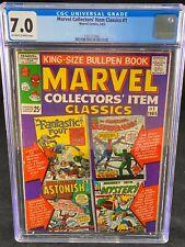 Marvel Collectors Item Classics #1 CGC 7.0 1965 Spider-Man Skrulls Thor A138