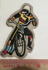 Vintage motorcycle Speedway patch collectible old biker dirt track memorabilia