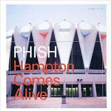 PHISH - HAMPTON COMES ALIVE! COMPLETE 6-CD LIVE/CONCERT ART ROCK BOX SET!