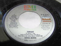 DAVID BOWIE-TONIGHT/SAME rock 45+PS