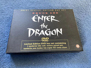 BRUCE LEE ENTER THE DRAGON LIMITED EDITION DVD BOX SET