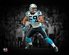 """Luke Kuechly Carolina Panthers Unsigned Spotlight 8"""" x 10"""" Photo - Fanatics"""
